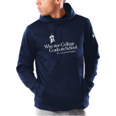 Under Armour Navy Armour Fleece Hoodie-Graduate School