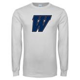White Long Sleeve T Shirt-W