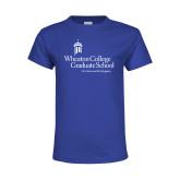Youth Royal T Shirt-Graduate School