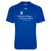Under Armour Royal Tech Tee-Conservatory of Music