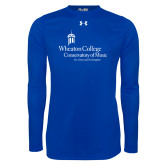 Under Armour Royal Long Sleeve Tech Tee-Conservatory of Music