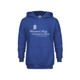 Youth Royal Fleece Hoodie-Conservatory of Music