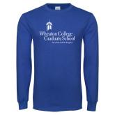 Royal Long Sleeve T Shirt-Graduate School