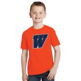 Youth Orange T Shirt-W