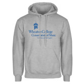 Grey Fleece Hoodie-Conservatory of Music