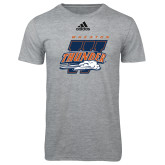 Adidas Sport Grey Logo T Shirt-Primary Athletics Mark