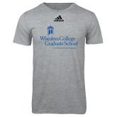 Adidas Sport Grey Logo T Shirt-Graduate School