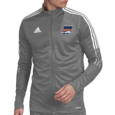 Adidas Grey Tiro 19 Training Jacket-Primary Athletics Mark