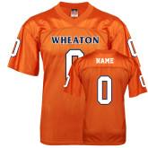 Replica Orange Adult Football Jersey-Wheaton Football Jersey