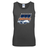 Charcoal Tank Top-Primary Athletics Mark
