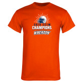 Orange T Shirt-2019 CCIW Football Champions