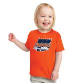 Toddler Orange T Shirt-Primary Athletics Mark