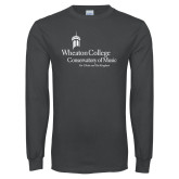 Charcoal Long Sleeve T Shirt-Conservatory of Music