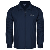 Full Zip Navy Wind Jacket-Primary Mark