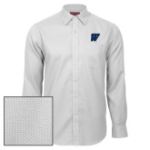 Red House White Diamond Dobby Long Sleeve Shirt-W