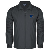Full Zip Charcoal Wind Jacket-W