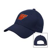 Navy Heavyweight Twill Pro Style Hat-W