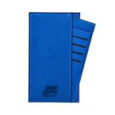 Parker Blue RFID Travel Wallet-Primary Athletics Mark Engraved