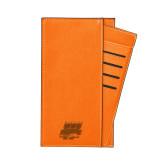 Parker Orange RFID Travel Wallet-Primary Athletics Mark Engraved