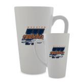 Full Color Latte Mug 17oz-Primary Athletics Mark