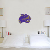 1 ft x 1 ft Fan WallSkinz-Catamount Head