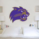 4 ft x 5 ft Fan WallSkinz-Catamount Head