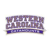 Medium Decal-Western Carolina Catamounts, 8 in Wide