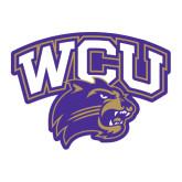 Large Decal-WCU w/Head, 12 in Tall