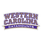 Large Decal-Western Carolina Catamounts, 12 in Wide