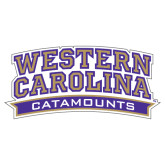 Extra Large Decal-Western Carolina Catamounts, 18 in Wide