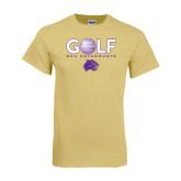 Champion Vegas Gold T Shirt-Golf Ball Design