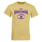 Champion Vegas Gold T Shirt-Homecoming 2016