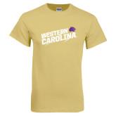 Champion Vegas Gold T Shirt-Western Carolina Slashes