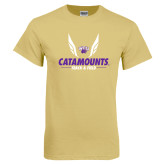 Champion Vegas Gold T Shirt-Wings Track and Field