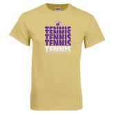 Champion Vegas Gold T Shirt-Tennis Repeating