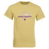 Champion Vegas Gold T Shirt-Cross Country Shoe Design
