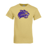 Champion Vegas Gold T Shirt-Catamount Head