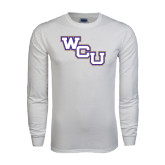 White Long Sleeve T Shirt-WCU