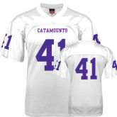 Replica White Adult Football Jersey-#41