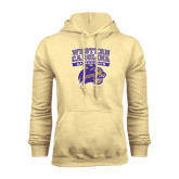 Champion Vegas Gold Fleece Hood-Western Carolina Catamounts Stacked