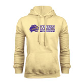 Champion Vegas Gold Fleece Hood-Western Carolina Catamounts Side Logo
