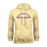 Champion Vegas Gold Fleece Hood-Arched Football Design