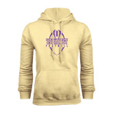 Champion Vegas Gold Fleece Hood-Tall Football Design