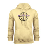 Champion Vegas Gold Fleece Hood-Basketball Ball Design