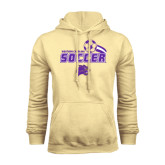 Champion Vegas Gold Fleece Hood-Soccer Swoosh Design