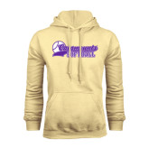 Champion Vegas Gold Fleece Hood-Softball Script Design