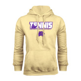 Champion Vegas Gold Fleece Hood-Tennis Player Design