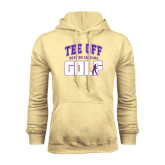 Champion Vegas Gold Fleece Hood-Tee Off Golf Design