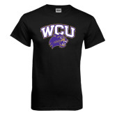 Black T Shirt-WCU w/Head