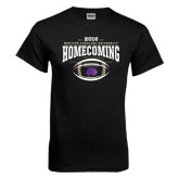 Black T Shirt-Homecoming 2016